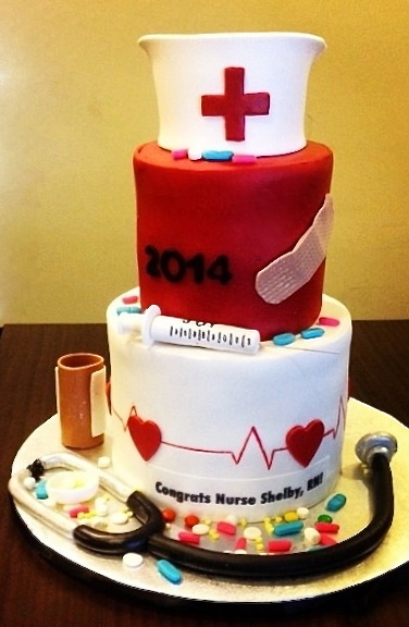Graduation Nursing cake