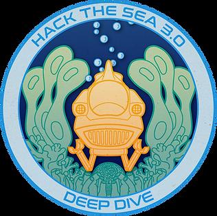 HACKtheSEA 3.0: Deep Dive Logo