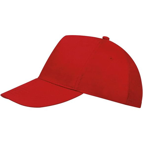 Casquette adulte rouge