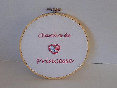 """Tambourin """"Chambre de princesse"""""""