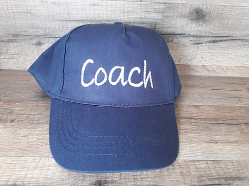 Casquette adulte bleu marine Coach