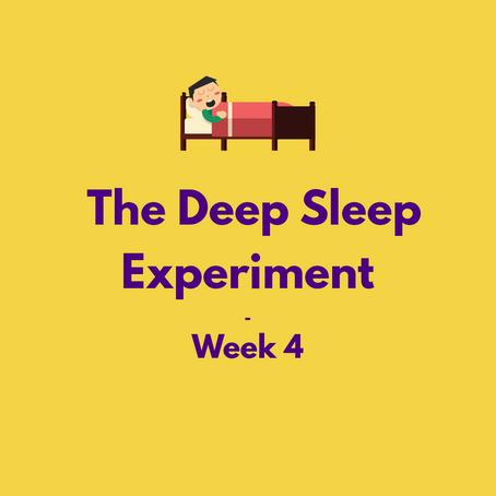 The Deep Sleep Experiment – Week 4 | The Lab