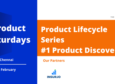 Lessons from the Product discovery meetup.
