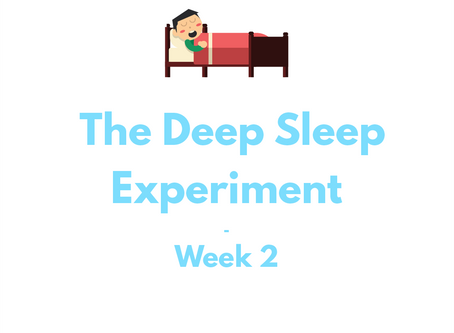 The Deep Sleep Experiment – Week 2 | The Lab