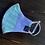 Thumbnail: Mardi Gras Seersucker mask