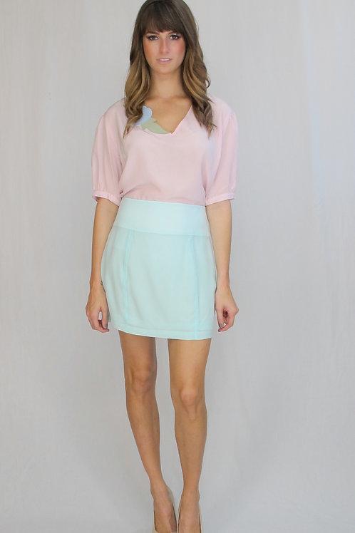 The Marian Silk Skirt