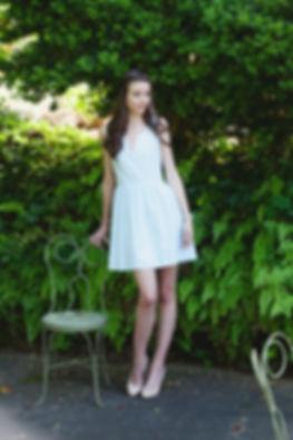 mint seersucker dress