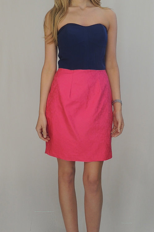 The St Germain in Navy/ Pink