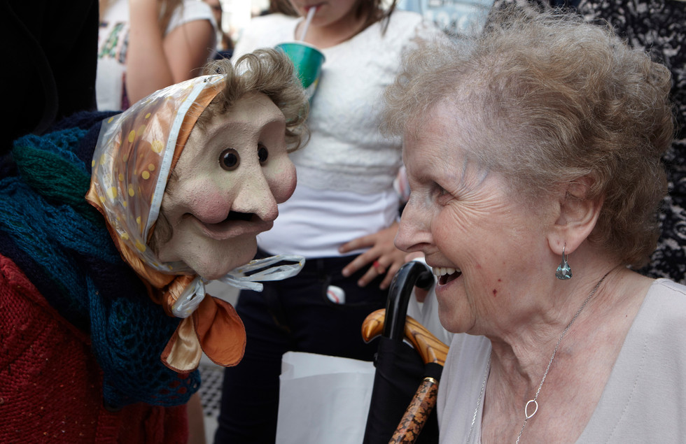 Never Too Old by Frolicked, Photo by Les Gibbon