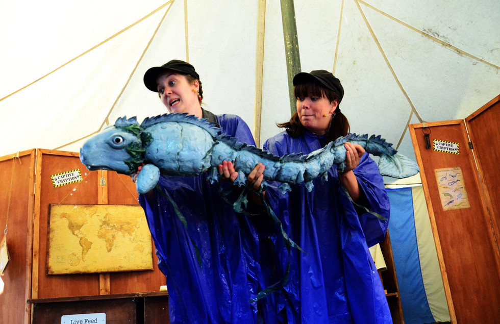 Cryptid Petting Zoo by Headstrung Puppets, Photo by Holly Waites