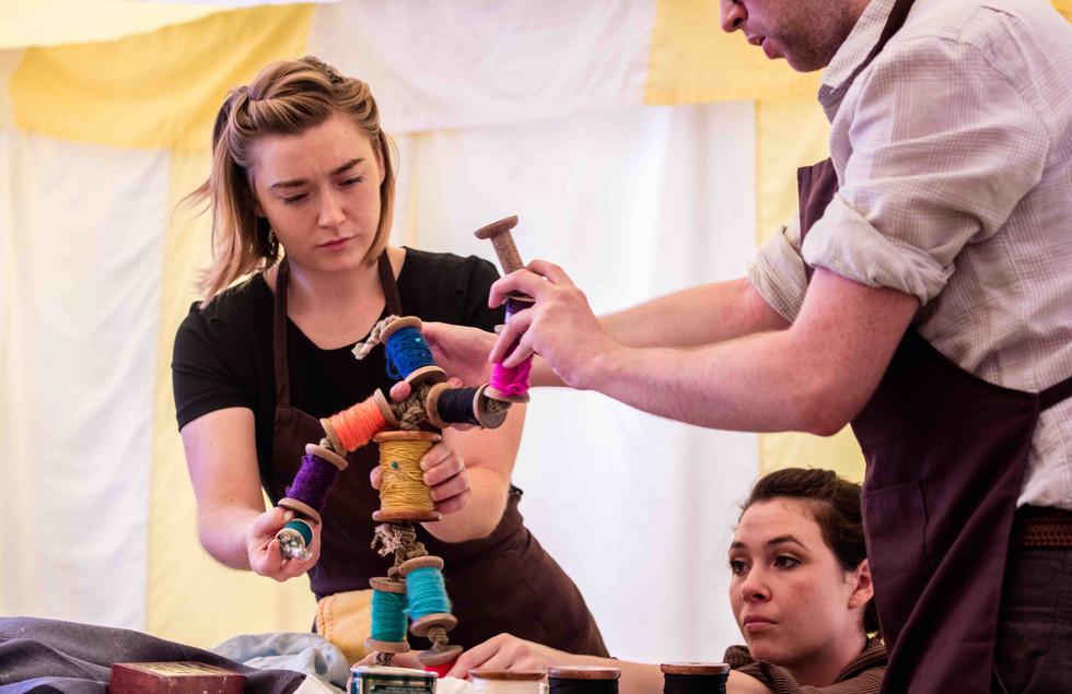 Bobbin by Teabreak Theatre, Photo by Nigel Walker