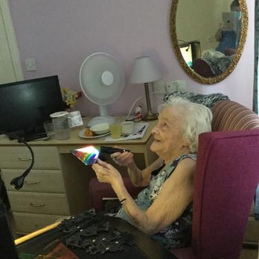 Elsie at Figham Care Home