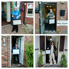 Shadow kits are dropped off at participating care homes