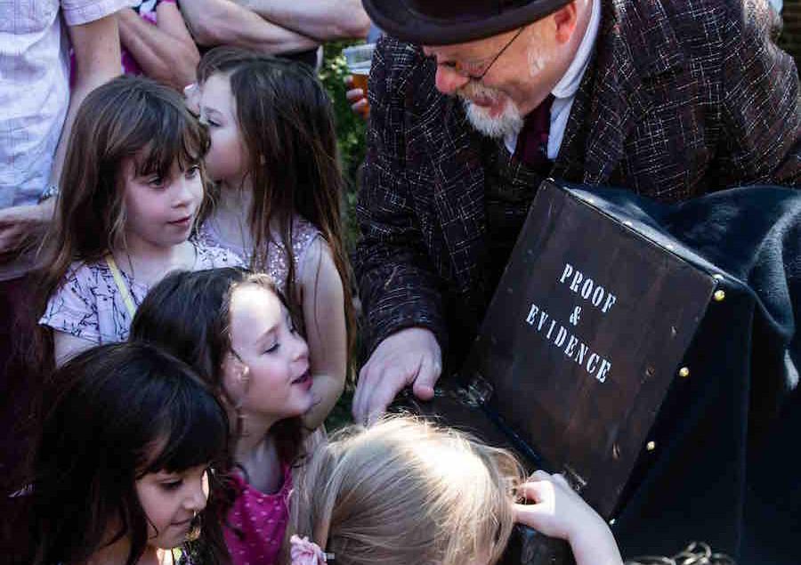 FSI Fairy Scene Investigation By Ripstop Theatre, Photo by Nigel Walker