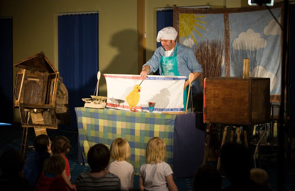 The Ugly Duckling, Sea Legs Puppet Theatre, Photo by Gary Morrison
