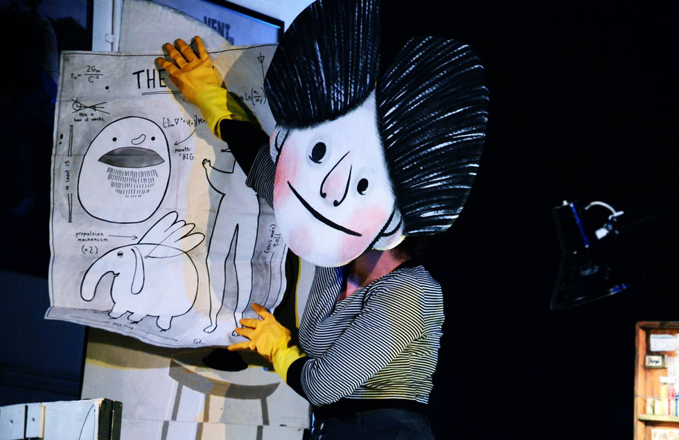 Oddly by Norwich Puppet Theatre, Photo by Holly Waites