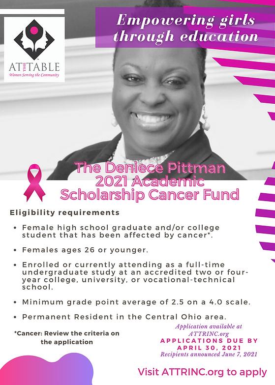 ATT Deniece Pittman 2021 Scholarship Fly