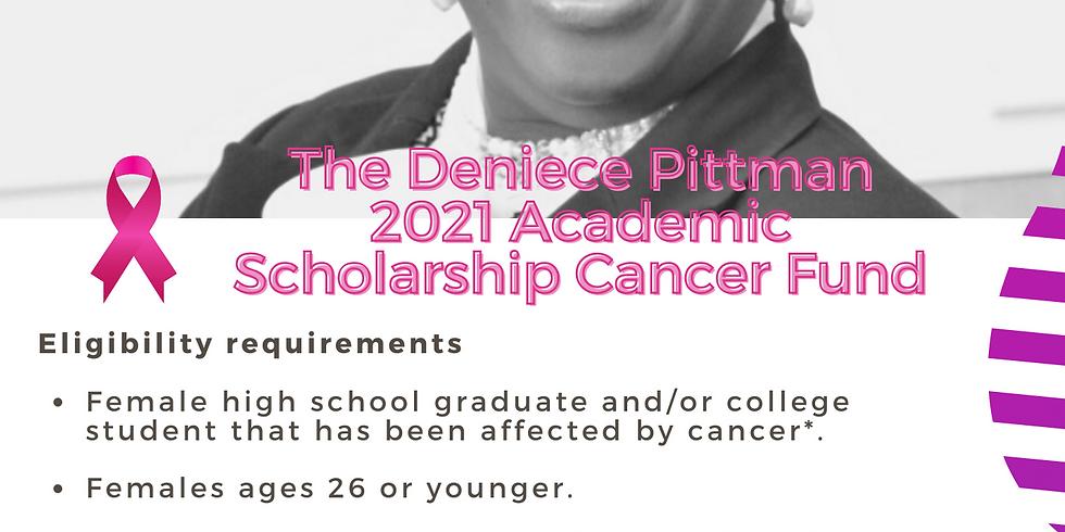 Announcement of the Deniece Pittman Scholarship Award Recipient