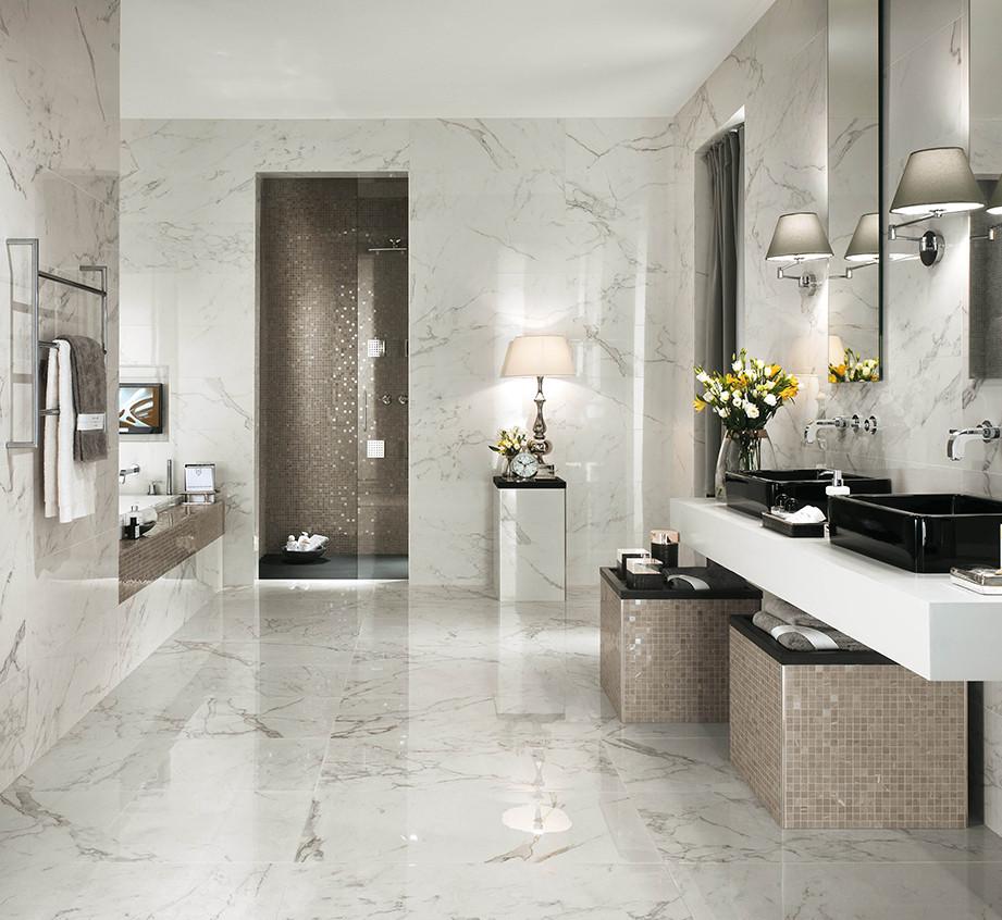 marble look porcelain tiles