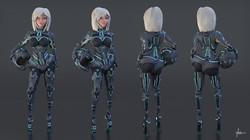 Techno Character