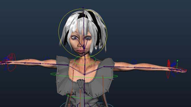 Texturing: Head