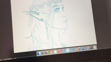 Digital Art: Elf Progression