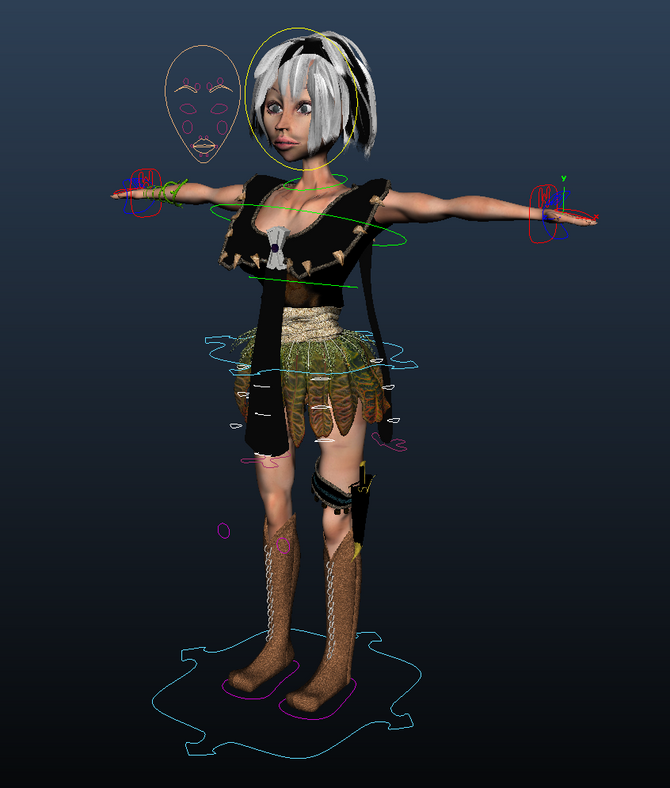 Rigging: Completed
