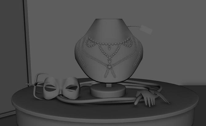 Model: Diamond necklace
