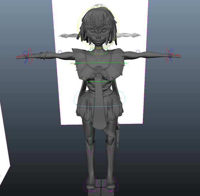 Rigging: Arms + Legs