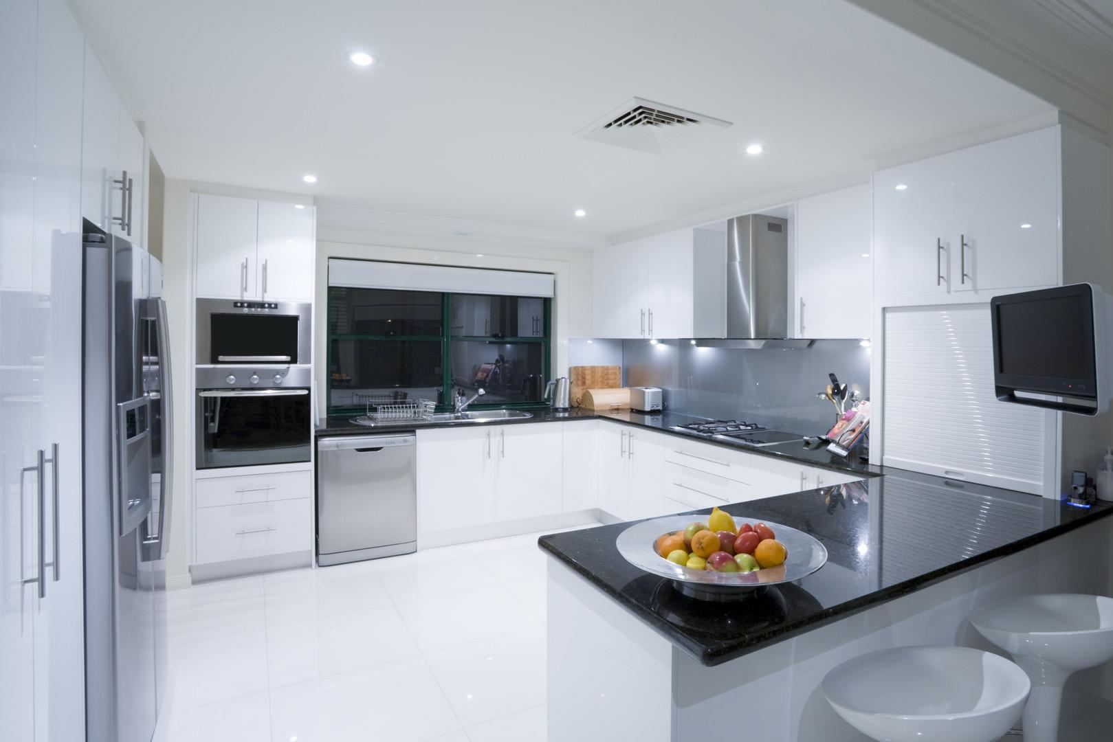 Foto einer modernen Küche