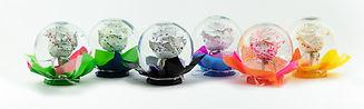 Paint Splatter Flower Globe Mix
