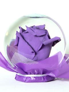 Purple Flower Globe
