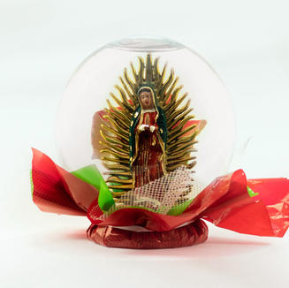 Lady of Guadalupe Flower Globe