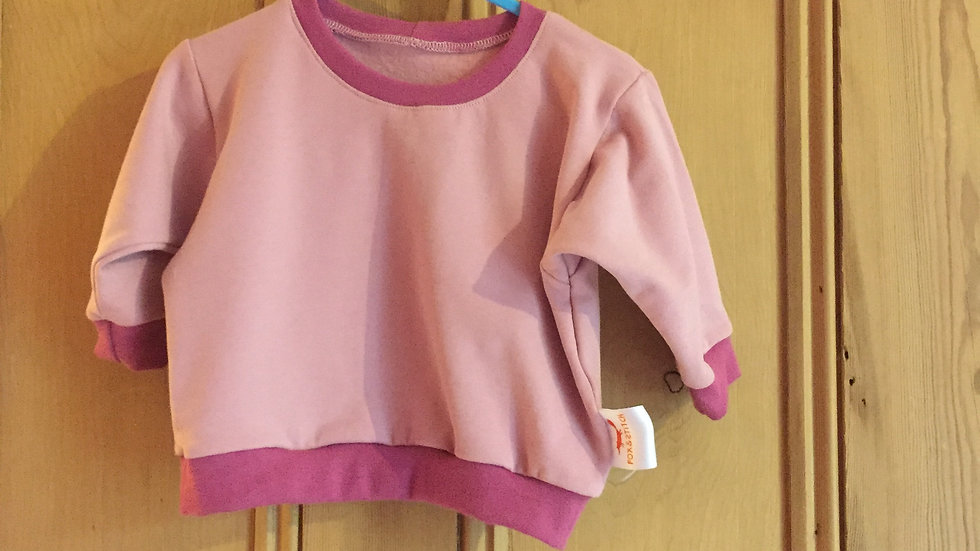 Lounge Sweater in pink