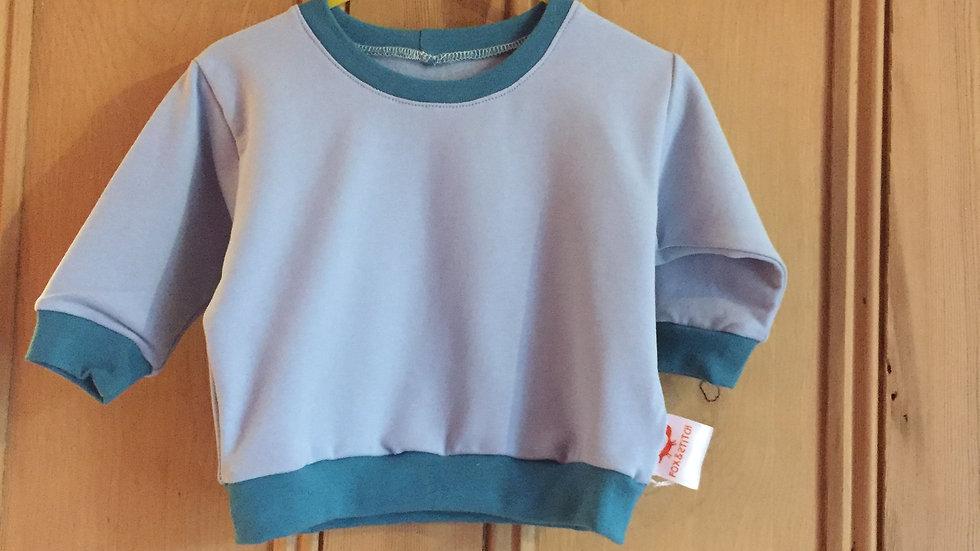 Lounge Sweater in blue