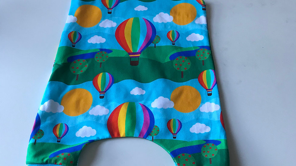 Romper in Rolling Hills fabric.
