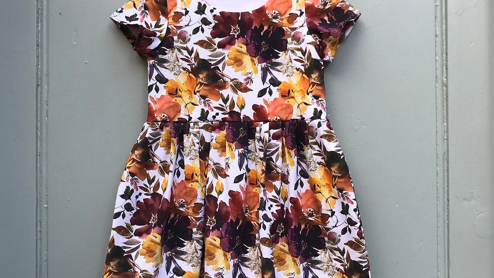 Dress in Autumn Flowers