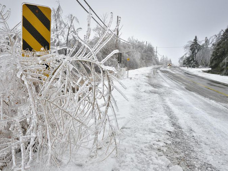 How to prepare for an Ice Storm...