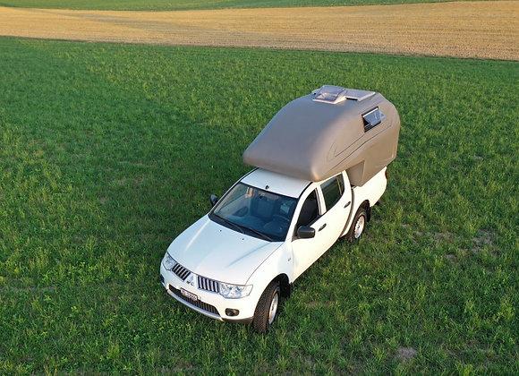 GEOCamper Wohnkabine für DoKa-Fahrzeuge