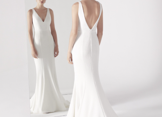 Suzanne Harward - Blanc (White Look 4) Gown