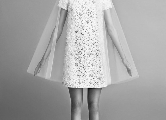 Viktor & Rolf -Flower Beaded Shift Dress