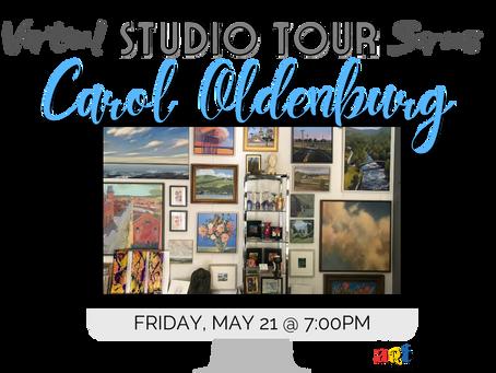 Virtual Studio Tours beginning in May!