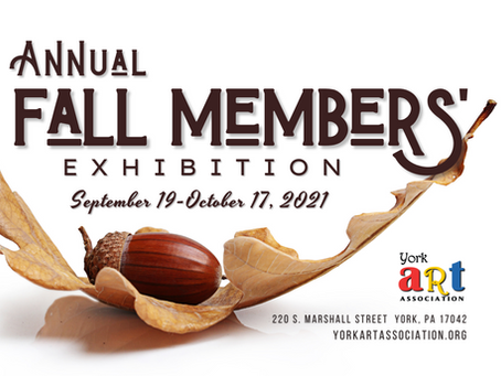 Announcing our Annual Fall Members' Exhibition