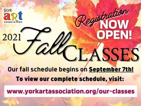 Fall Education Registration is NOW OPEN!
