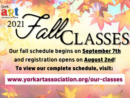 Fall Education Session is Coming Soon!