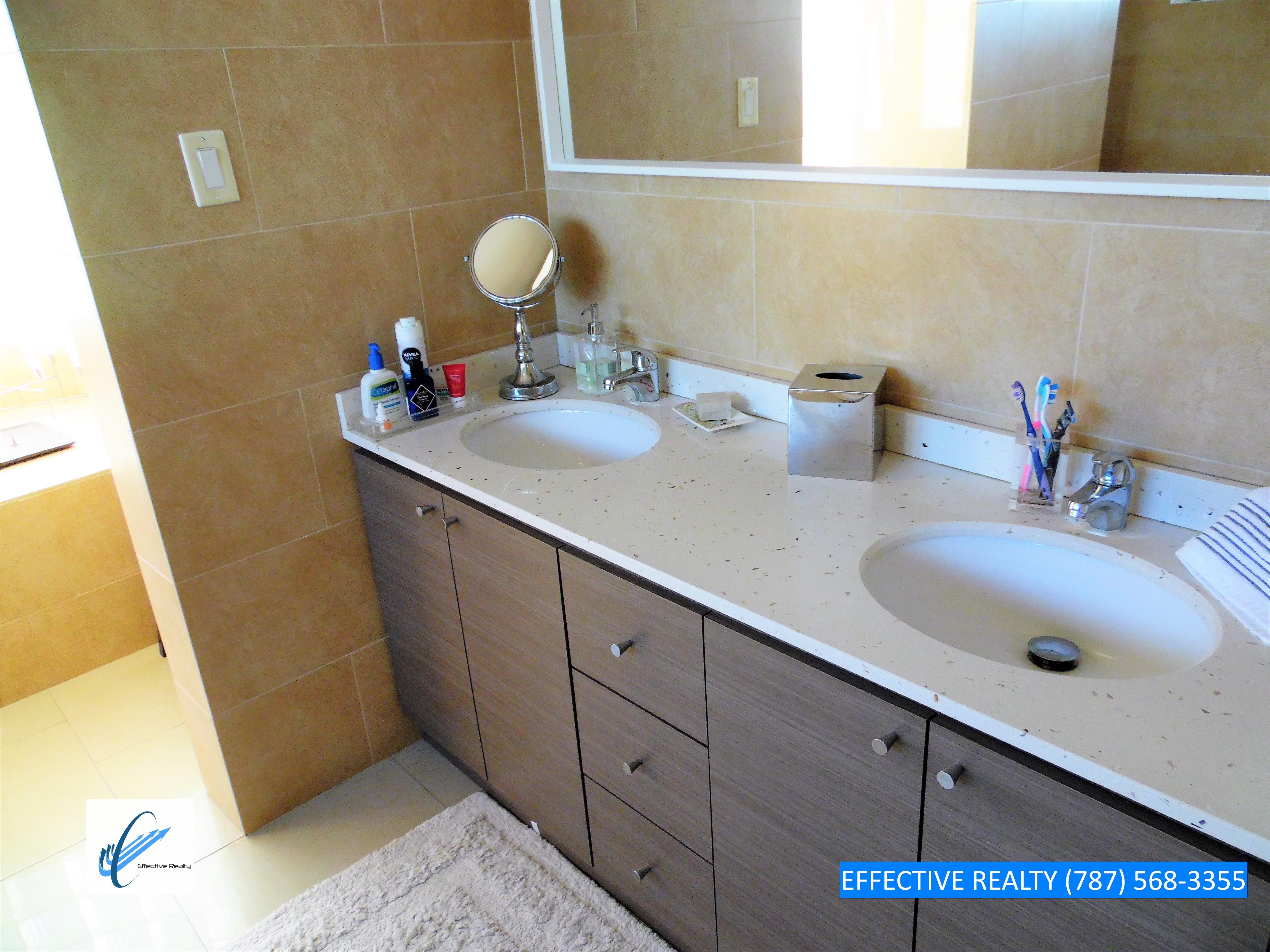 Baño Master doble vanity
