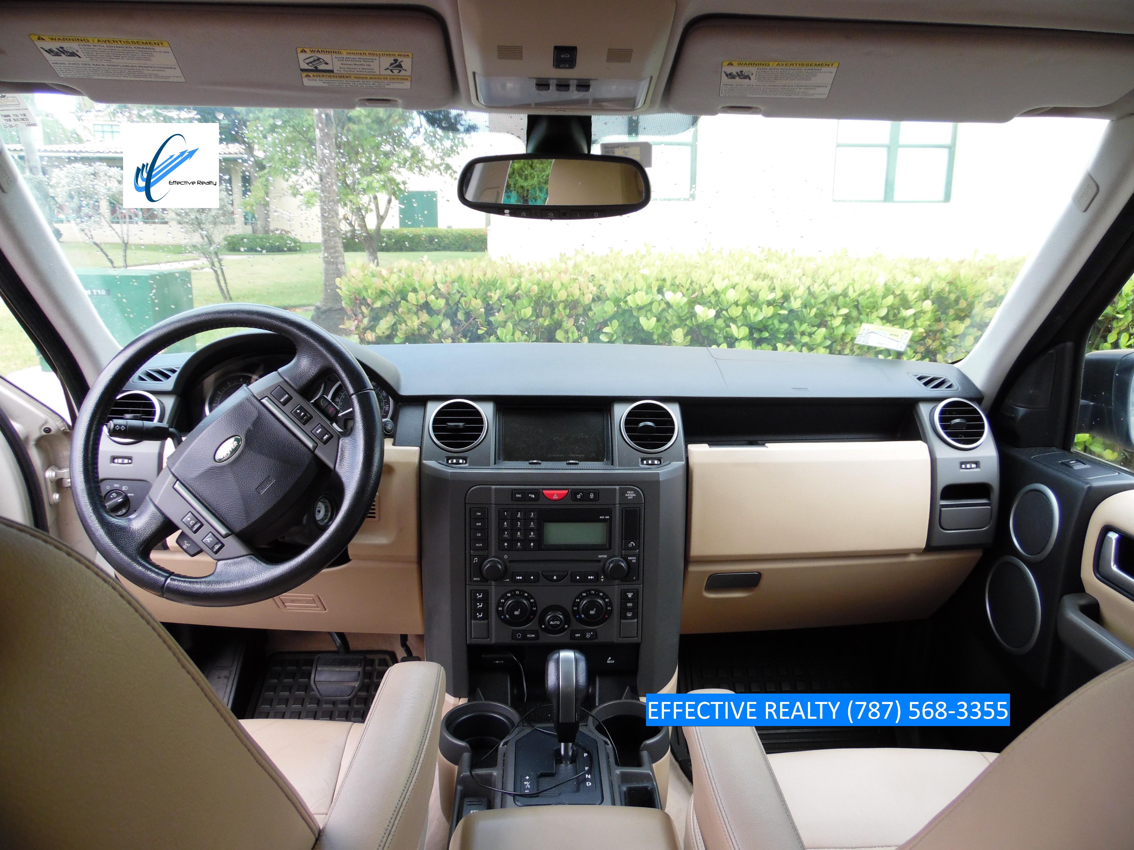 Dash de Land Rover