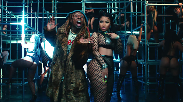 """GOOD FORM"" Nicki Minaj ft. Lil Wayne"