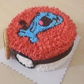 果然翁精靈球鮮果忌廉蛋糕