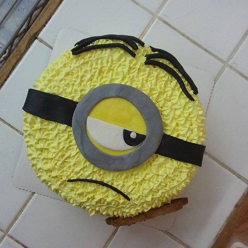 Minions 鮮果忌廉蛋糕